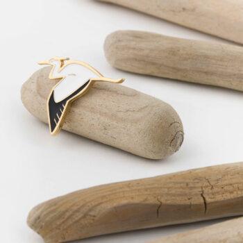 jewellery, pins-en, PIN BULLFINCH - 4 350x350