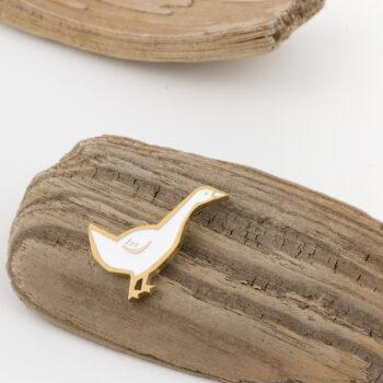 jewellery, pins-en, PIN BULLFINCH - 5 350x350