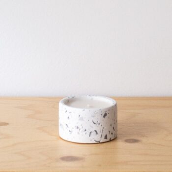 interior-design, home-accessories, candles, MINI SCENTED SOY CANDLE GREY TERRAZZO - QY1C9599 350x350