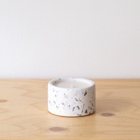 home-accessories, interior-design, candles, MINI SCENTED SOY CANDLE GREY TERRAZZO - QY1C9599 470x470