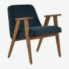 armchairs, furniture, interior-design, 366 ARMCHAIR COCO - 366 Concept 366 Armachair W03 Coco Indigo 100x100