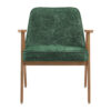 armchairs, furniture, interior-design, 366 ARMCHAIR MARBLE - 366 Concept 366 Armchair W02 Marble Bottle Green front 100x100