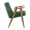 armchairs, furniture, interior-design, 366 ARMCHAIR MARBLE - 366 Concept 366 Armchair W02 Marble Bottle Green side 100x100