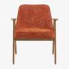 armchairs, furniture, interior-design, 366 ARMCHAIR MARBLE - 366 Concept 366 Armchair W02 Marble Mandarin front 100x100