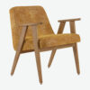 sessel, mobel, wohnen, SESSEL 366 MARBLE - 366 Concept 366 Armchair W02 Marble Mustard 100x100