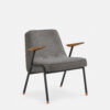 armchairs, furniture, interior-design, greenery-en, ARMCHAIR 366 METAL TWEED - 366 Concept 366 Metal Armchair BM W03 Tweed Grey 1 100x100