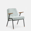 armchairs, furniture, interior-design, greenery-en, ARMCHAIR 366 METAL TWEED - 366 Concept 366 Metal Armchair BM W03 Tweed Mentos 100x100