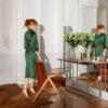 sessel, mobel, wohnen, greenery, SESSEL 366 BUNNY VELVET - 366 Concept Autor Rooms Bunny Armchair W03 Velvet Red Brick mood 100x100
