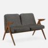 sofas, furniture, interior-design, 2-SEATER 366 BUNNY LOFT - 366 Concept Bunny 2 Seater W03 Loft Grey 100x100