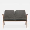 sofas, furniture, interior-design, 2-SEATER 366 BUNNY LOFT - 366 Concept Bunny 2 Seater W03 Loft Grey front 100x100