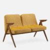 sofas, furniture, interior-design, 2-SEATER 366 BUNNY LOFT - 366 Concept Bunny 2 Seater W03 Loft Mustard 100x100