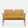 sofas, furniture, interior-design, 2-SEATER 366 BUNNY LOFT - 366 Concept Bunny 2 Seater W03 Loft Mustard front 100x100
