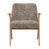 sessel, mobel, wohnen, SESSEL 366 BUNNY MARBLE - 366 Concept Bunny Armchair W02 Marble Beige front 100x100