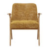 sessel, mobel, wohnen, SESSEL 366 BUNNY MARBLE - 366 Concept Bunny Armchair W02 Marble Mustard front 100x100