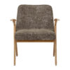 sessel, mobel, wohnen, SESSEL 366 BUNNY MARBLE - 366 Concept Bunny Armchair W02 Marble Taupe front 100x100