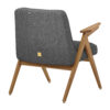 sessel, mobel, wohnen, schaukelstuehle, greenery, SESSEL 366 BUNNY LOFT - 366 Concept Bunny Armchair W03 Loft Grey back 100x100
