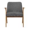 sessel, mobel, wohnen, schaukelstuehle, greenery, SESSEL 366 BUNNY LOFT - 366 Concept Bunny Armchair W03 Loft Grey front 100x100