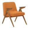 sessel, mobel, wohnen, schaukelstuehle, greenery, SESSEL 366 BUNNY LOFT - 366 Concept Bunny Armchair W03 Loft Mandarin 100x100