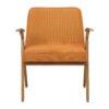 sessel, mobel, wohnen, schaukelstuehle, greenery, SESSEL 366 BUNNY LOFT - 366 Concept Bunny Armchair W03 Loft Mandarin front 100x100