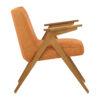 sessel, mobel, wohnen, schaukelstuehle, greenery, SESSEL 366 BUNNY LOFT - 366 Concept Bunny Armchair W03 Loft Mandarin side 100x100