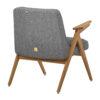 sessel, mobel, wohnen, schaukelstuehle, greenery, SESSEL 366 BUNNY LOFT - 366 Concept Bunny Armchair W03 Loft Silver back 100x100