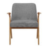 sessel, mobel, wohnen, schaukelstuehle, greenery, SESSEL 366 BUNNY LOFT - 366 Concept Bunny Armchair W03 Loft Silver front 100x100