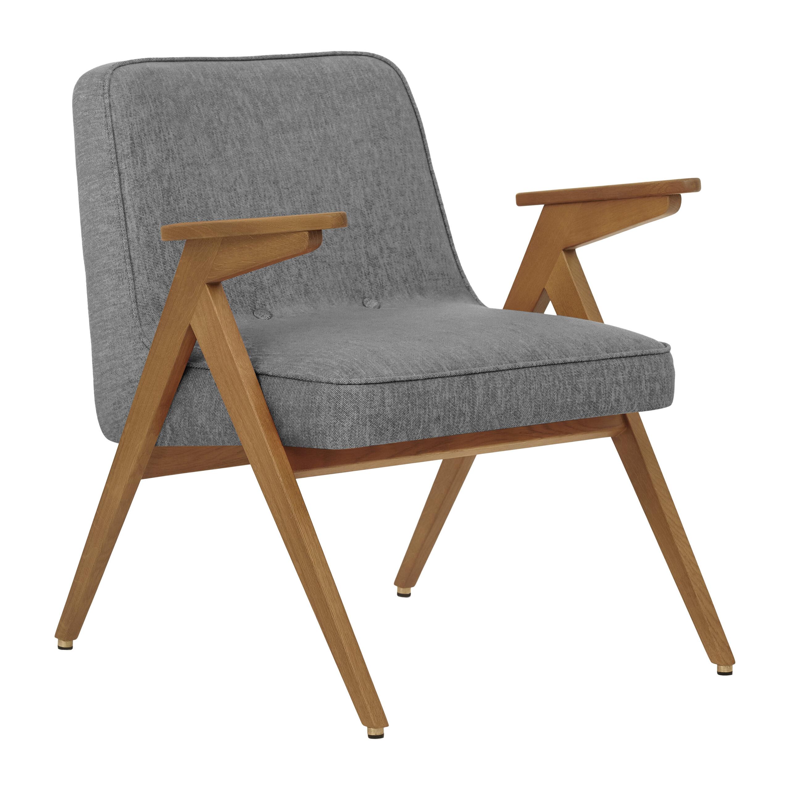 sessel, mobel, wohnen, schaukelstuehle, greenery, SESSEL 366 BUNNY LOFT - 366 Concept Bunny Armchair W03 Loft Silver scaled