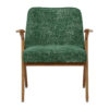 sessel, mobel, wohnen, SESSEL 366 BUNNY MARBLE - 366 Concept Bunny Armchair W03 Marble Bottle Green front 100x100