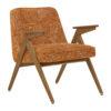 sessel, mobel, wohnen, SESSEL 366 BUNNY MARBLE - 366 Concept Bunny Armchair W03 Marble Orange 100x100