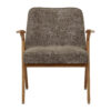 sessel, mobel, wohnen, SESSEL 366 BUNNY MARBLE - 366 Concept Bunny Armchair W03 Marble Taupe front 100x100