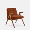 armchairs, furniture, interior-design, greenery-en, 366 BUNNY ARMCHAIR VELVET - 366 Concept Bunny Armchair W03 Velvet Sierra 100x100