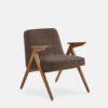 sessel, mobel, wohnen, greenery, SESSEL 366 BUNNY VELVET - 366 Concept Bunny Armchair W03 Velvet Taupe 100x100