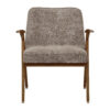 sessel, mobel, wohnen, SESSEL 366 BUNNY MARBLE - 366 Concept Bunny Armchair W05 Marble Beige front 100x100