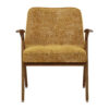 sessel, mobel, wohnen, SESSEL 366 BUNNY MARBLE - 366 Concept Bunny Armchair W05 Marble Mustard front 100x100