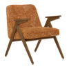 sessel, mobel, wohnen, SESSEL 366 BUNNY MARBLE - 366 Concept Bunny Armchair W05 Marble Orange 100x100