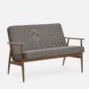 sofas-de, mobel, wohnen, FOX SOFA TWEED - 366 Concept Fox Sofa W03 Tweed Grey 100x100