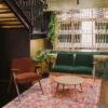 sofas, furniture, interior-design, 2-SEATER 366 BUNNY LOFT - 366 Concept Syreni Spiew Bunny Armchair Velvet Red Brick W03 Bunny Armchair Velvet Bottle Green W03 Fox Round Coffee Table W03 mood 19 100x100