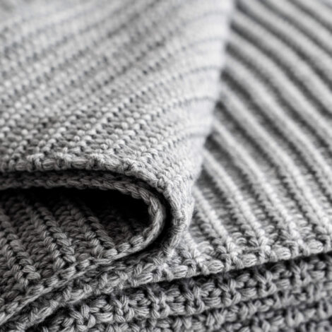 wohntextilien, wohnen, decken-und-ueberwuerfe, DECKE SOFT WEAVE GRAU - 4844 moyha soft weave blanket grey 2 470x470