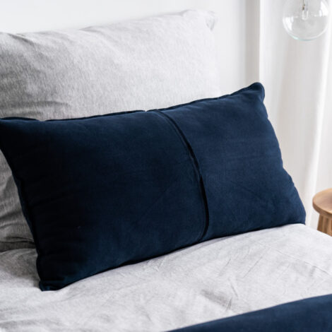 home-fabrics, pillows, interior-design, CUDDLE CUSHION NAVY - 4948 moyha cuddle cushion navy 3 470x470
