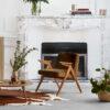 sessel, mobel, wohnen, greenery, SESSEL 366 BUNNY VELVET - Bunny Series W03 Velvet in Apartment 001 1 100x100