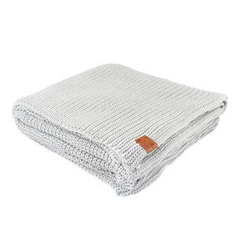 wohntextilien, wohnen, decken-und-ueberwuerfe, BAUMWOLLDECKE SENFGELB - blanket light gray8002L XL 5903678201135 4 350x350