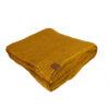 wohntextilien, wohnen, decken-und-ueberwuerfe, BAUMWOLLDECKE SENFGELB - blanket mustard2012km XL 5903678202149 100x100