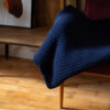 home-fabrics, interior-design, decken-und-ueberwuerfe-en, COTTON BLANKET NAVY BLUE - blanket navy blue70449D XL 5903678201128 100x100