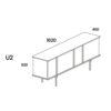 furniture, sideboards-en, interior-design, SIDEBOARD UMAMI 2 - PH dim UMAMI U2 100x100