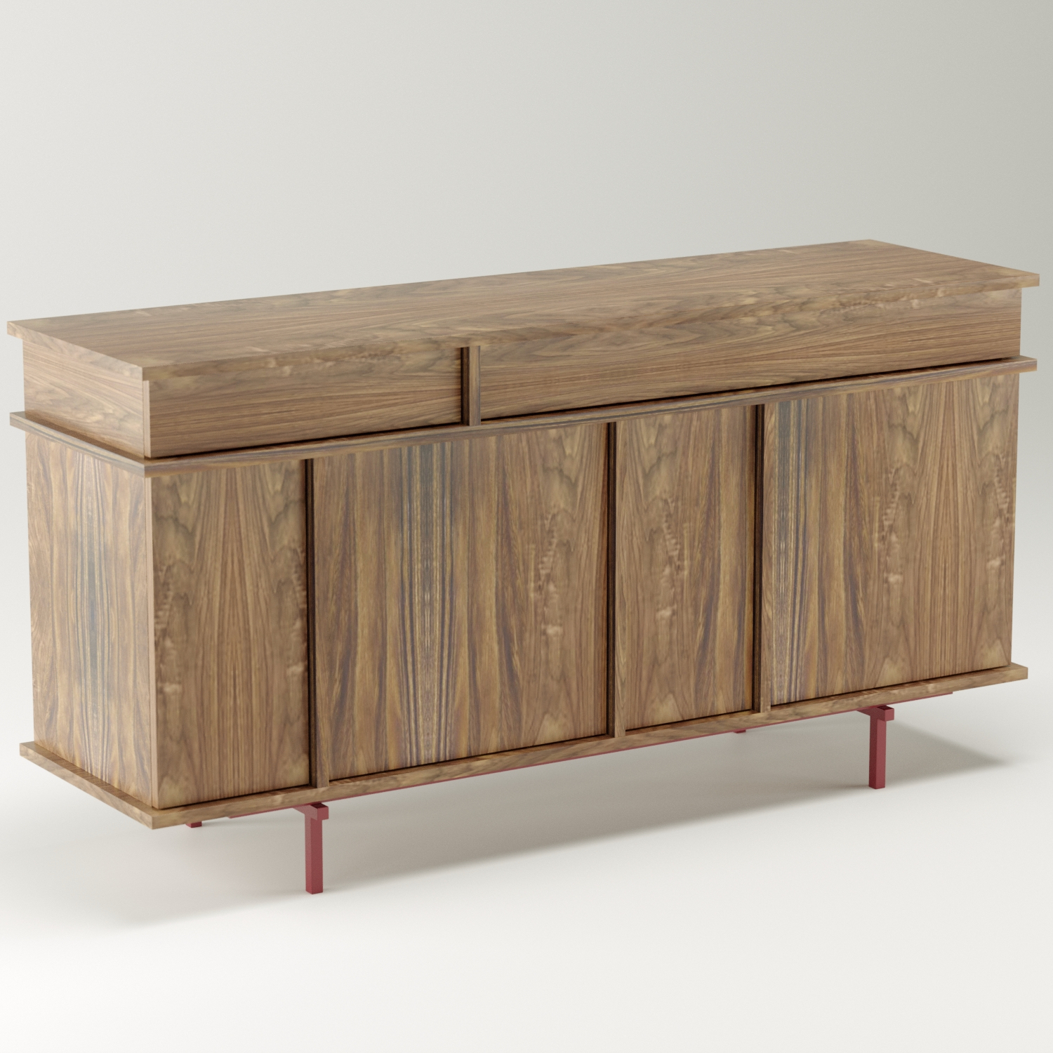 UMAMI U1 walnut rubyred