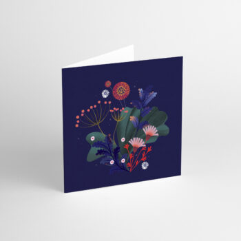 postcards-and-greeting-cards, paper-goods, GREETING CARD FLORA II - aniarudak 2 350x350