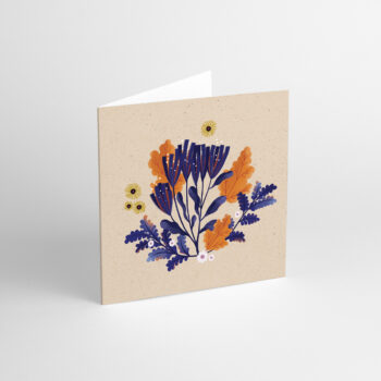postcards-and-greeting-cards, paper-goods, GREETING CARD FLORA III - aniarudak3 350x350