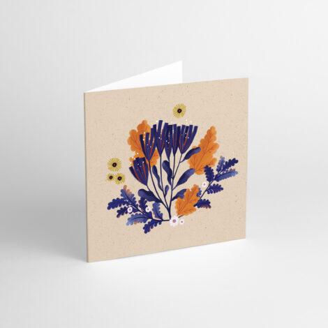 postkarten-und-grusskarten, papierartikel, GRUßKARTE FLORA III - aniarudak3 470x470