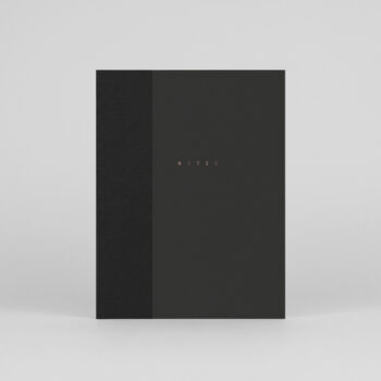 paper-goods, notebooks, CLASSIC NOTEBOOK BLACK - klasyk notebook 00 black 350x350