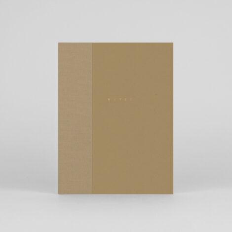notizbuecher, papierartikel, NOTIZBUCH KLASSIKER GOLD - klasyk notebook 00 camel 470x470